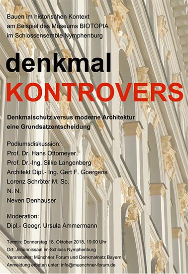 denkmal KONTROVERS